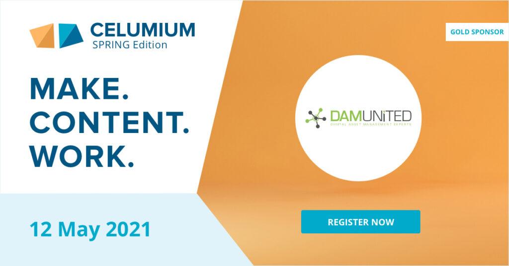 CELUMIUM 2021 Spring Edition DAM United Sponsor