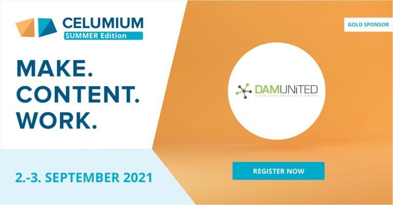 CELUMIUM 2021 Summer Edition DAM United Sponsor